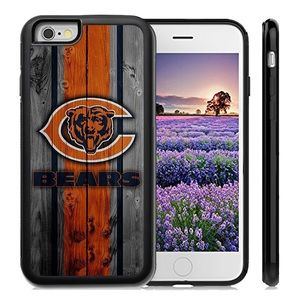 Accessories - Chicago Bears iPhone X 8 plus 7 6 6S SE 5S  cover